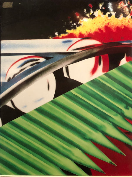 James Rosenquist-Welcome to the Water Planet and House of Fire 1988-1989-Tyler Graphics-Museum of Modern Art