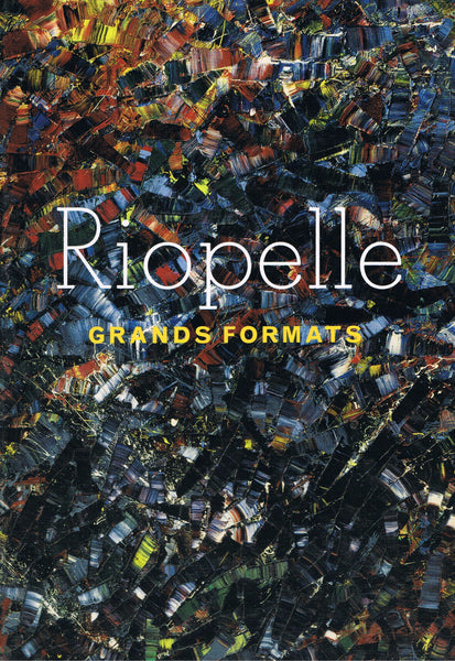 Cover image of Riopelle Grands Formats