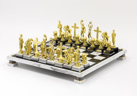Ry Rocklen's Trophy Modern chess set