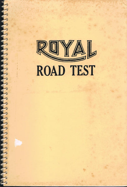 RUSCHA, ED and WILLIAMS, MASON. ROYAL ROAD TEST [SIGNED]