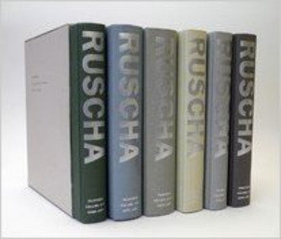 Image of Ed Ruscha Catalogue Raisonne's 1-6