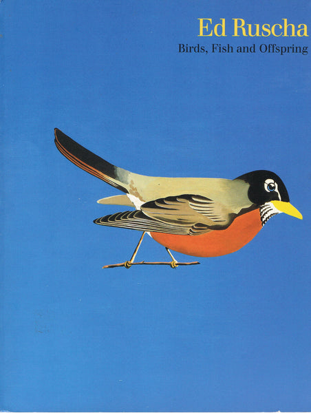 Cover photo of Ed Ruscha Birds Fish & Offspring