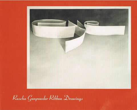 Cover photo of Ruscha Gunpowder Ribbon Drawings