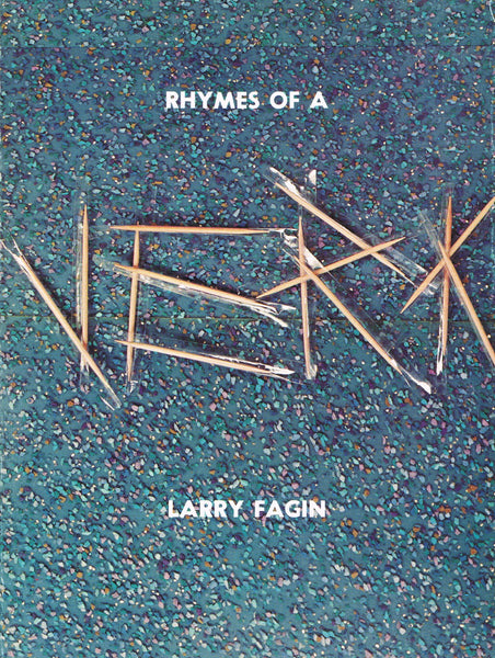 Ed Ruscha's cover for Rhymes of a Jerk by Larry Fagin