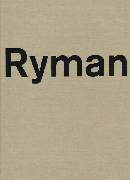 Cover of Robert Ryman (Xavier Hufkens)
