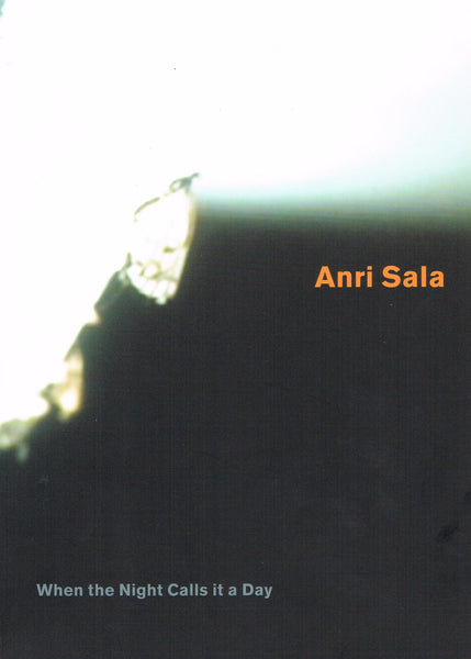 Cover image of Anri Sala When the Night Calls it a Day