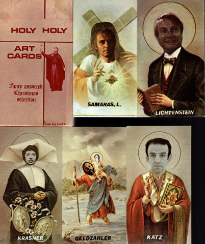 CELENDER, DON. HOLY HOLY ART CARDS
