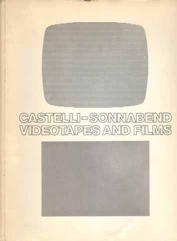 Front cover image-castelli-Sonnabend-Videotapes & Films