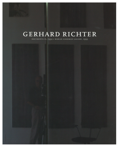 GERHARD RICHTER. DOCUMENTA IX, 1992