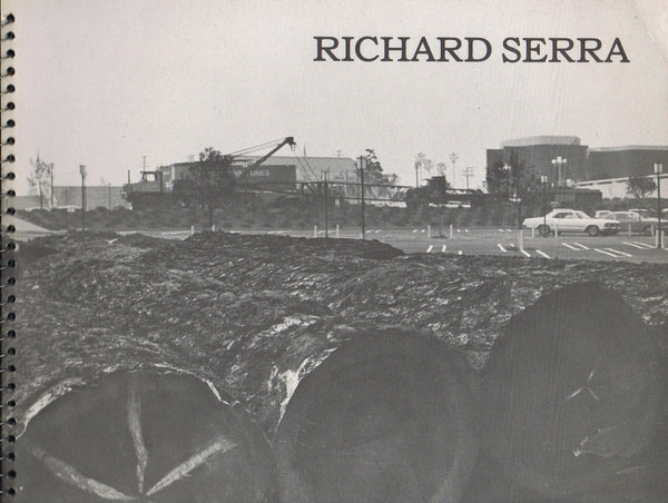 Cover image of Richard Serra at Pasadena Art Museum