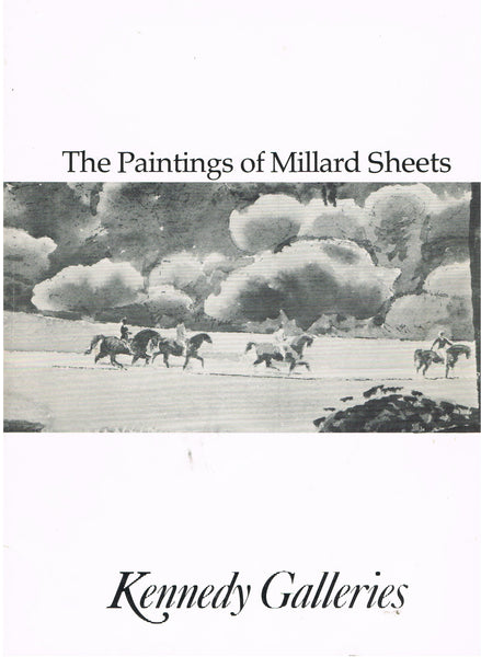Cover image of The Paintings of Millard Sheets
