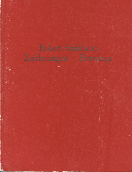 Cover photo of Robert Smithson Drawings
