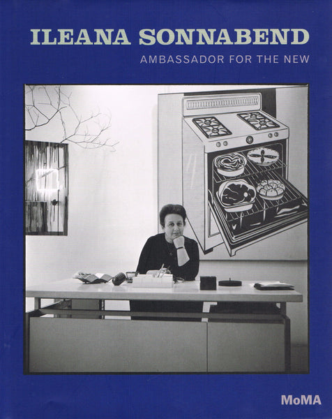 Cover of the MoMA exhibition catalogue on Ileana Sonnabend, Ambassador for the New