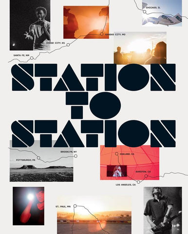 Cover image of Station to Station by Doug Aitken