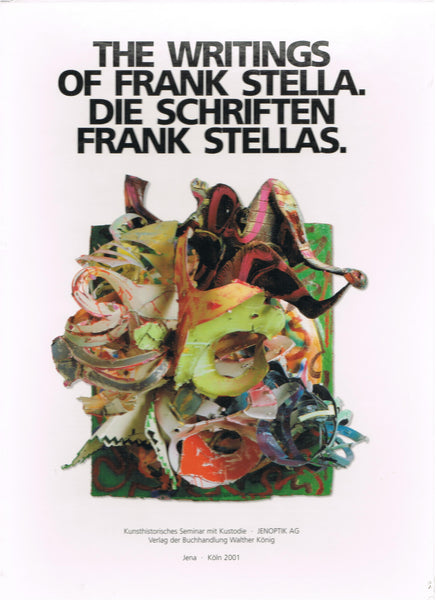 Cover image of The Writings of Frank Stella