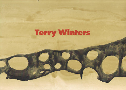 Cover photo of Terry Winters MOCA/Whitney Catalogue