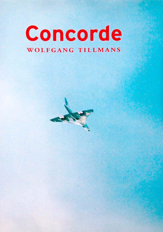 Cover photo of Concorde by Wolfgang Tillmans