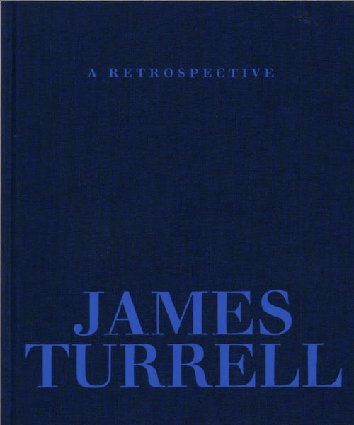 Cover of the Museum Edition of James Turrell's Retrospective catalogue
