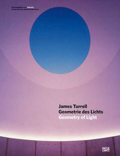 Cover of GEOMETRY OF LIGHT by JAMES TURRELL