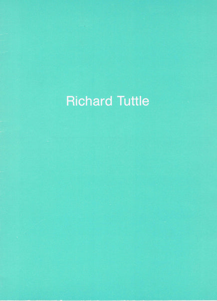 Cover image of Richard Tuttle From 210 Collage-Drawings