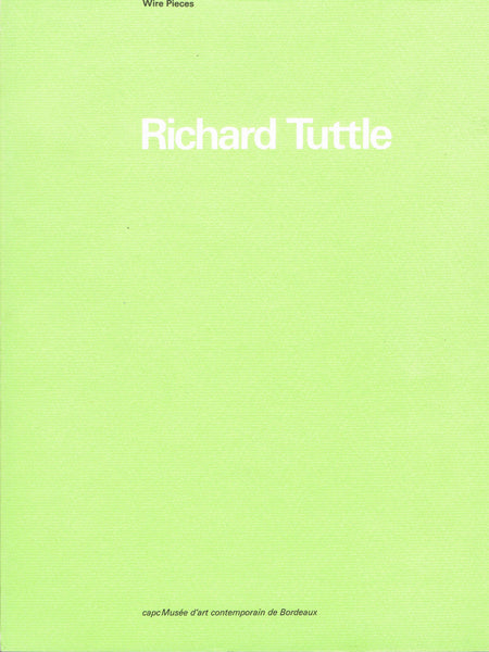 Cover of WIRE PIECES by RICHARD TUTTLE