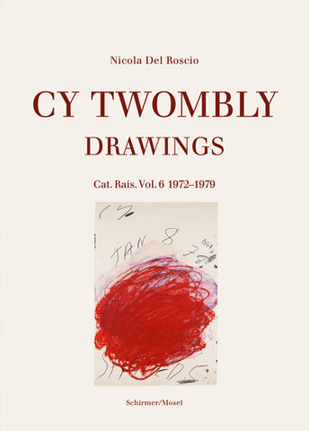 Cover image-Cy Twombly Drawings Cat Ras vol 6 1972-79