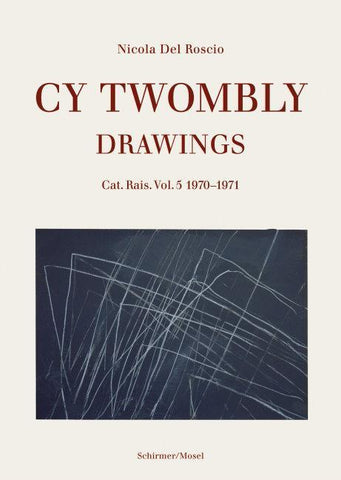 Cover image-Cy Twombly Drawings Cat Ras vol 5 1970-71