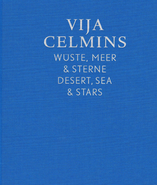 Cover image of Desert, Sea & Stars by Vija Celmins