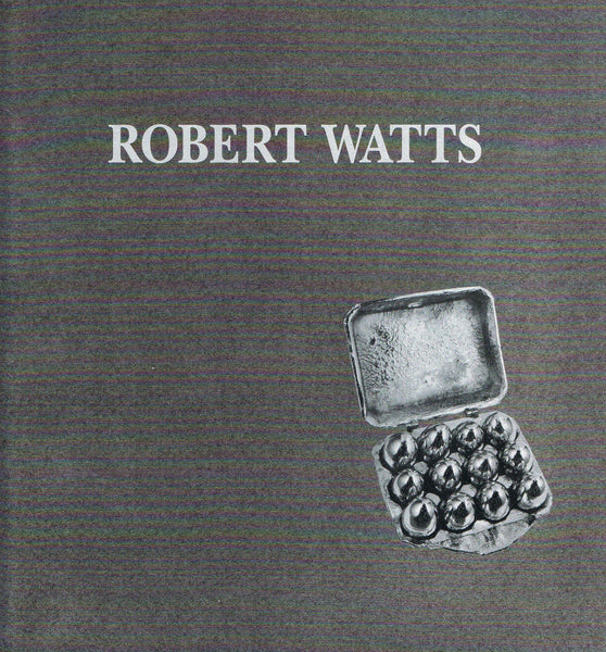 Cover of Robert Watts exhib. cat. from Leo Castelli Gallery 1990