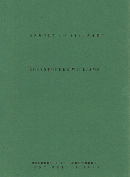 Cover of ANGOLA TO VIETNAM by CHRISTOPHER WILLIAMS