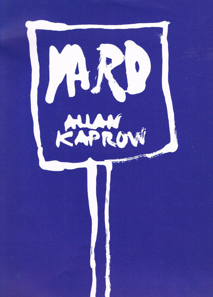 Cover photo of Yard by Allan Kaprow