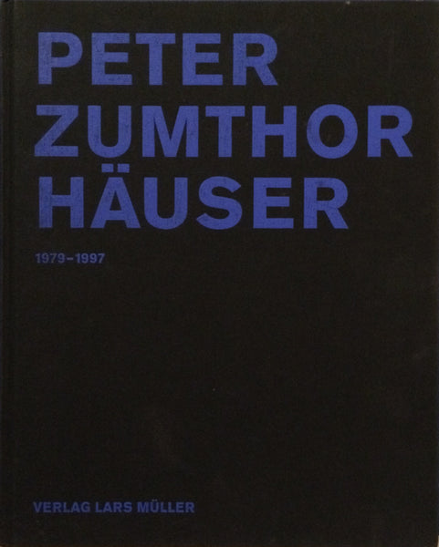 Cover image of Peter Zumthor Hauser