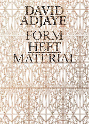 Cover image of David Adjaye Form Heft Material