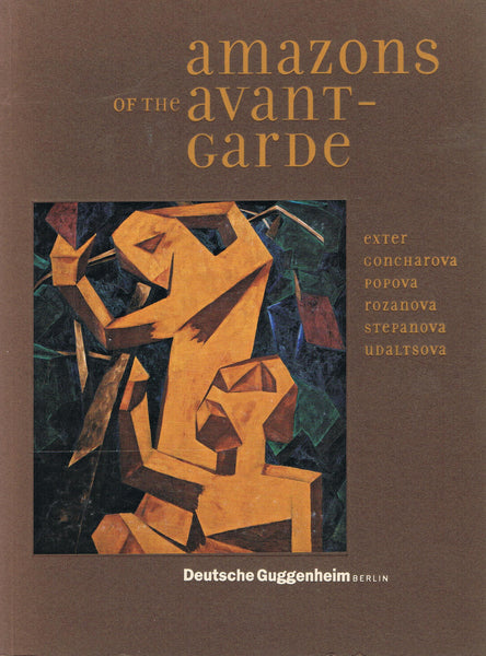 Cover of Amazons of the Avant-Garde