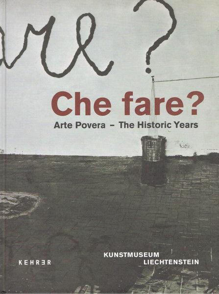 Cover image of Che Fare? Arte Povera- The Historic Years