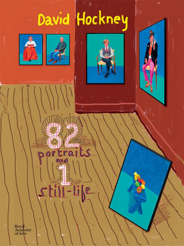 HOCKNEY, DAVID. 82 PORTRAITS AND 1 STILL-LIFE
