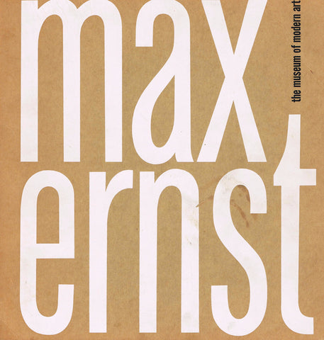 Cover image of Max Ernst
