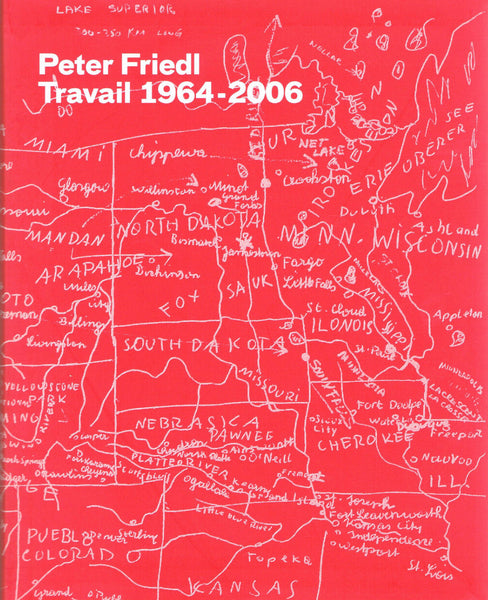 Cover of Peter Friedl Travail 1964-2006
