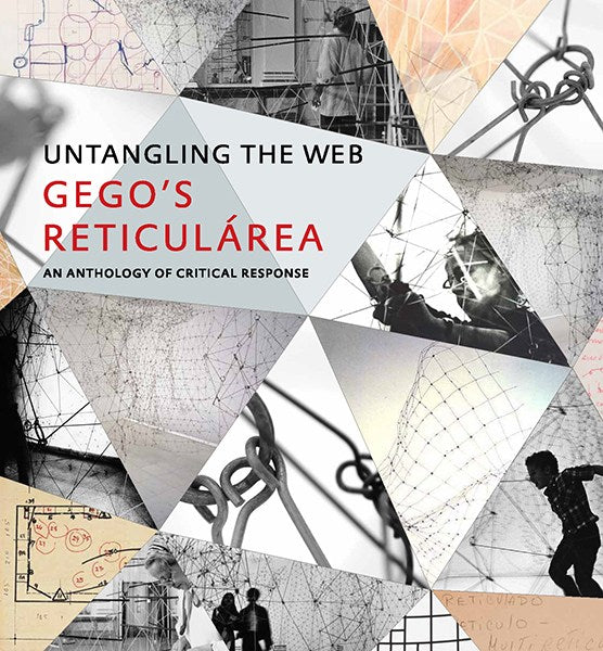 Front cover image-Gego's Reticularea Untangling the Web.