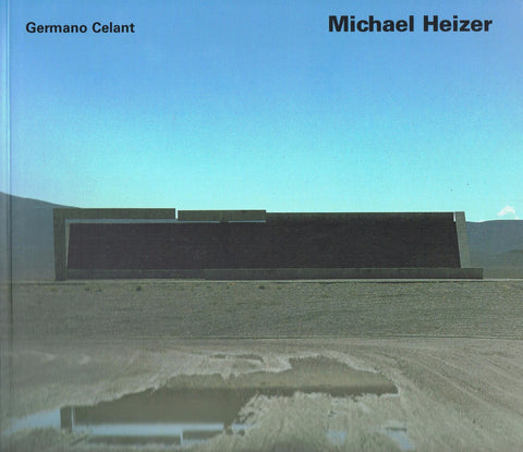 Cropped cover image of Michael Heizer by Germano Celant