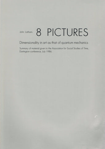 Cover image of 8 Pictures by John Latham