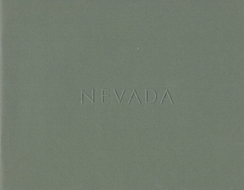 Cover of Nevada by Lewis Baltz
