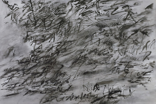 Julie Mehretu-Grey Paintings-Marian Goodman Gallery