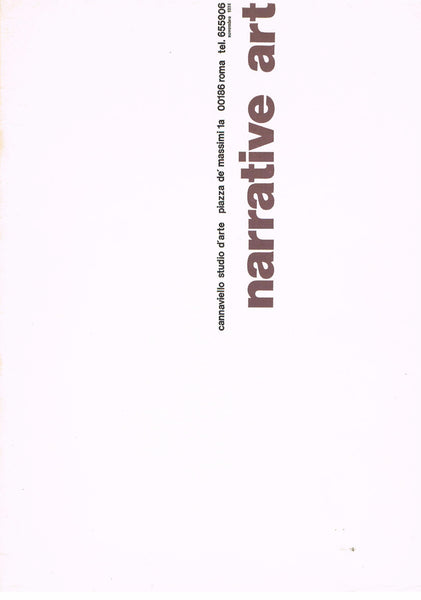 cover image of Narrative Art