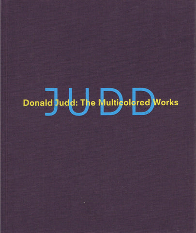 JUDD-DONALD-MULTICOLORED-WORKS