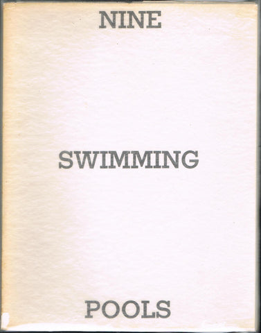 RUSCHA, ED. NINE SWIMMING POOLS AND A BROKEN GLASS.