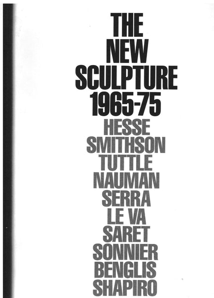 cover image of The New Sculpture