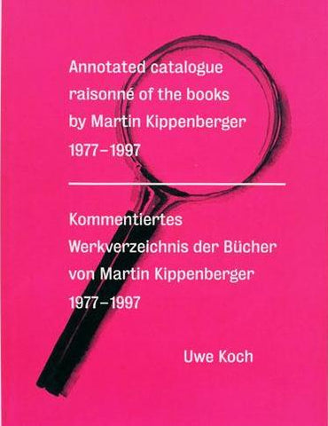 Front cover image-Martin Kippenberger-Catalogue Raisonne of the books