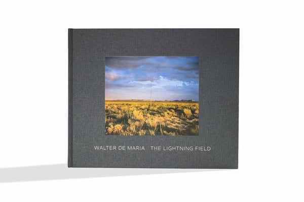 Front cover image-Walter De Maria-The Lightning Field
