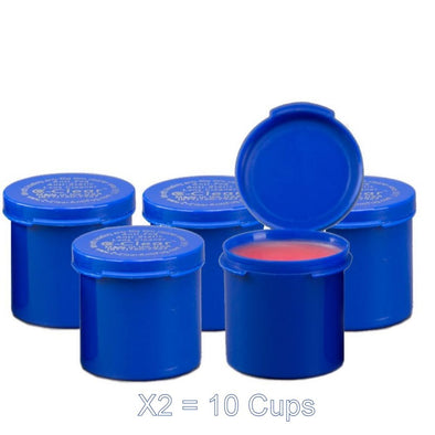 Ten 1 1/8 oz Gel Cups